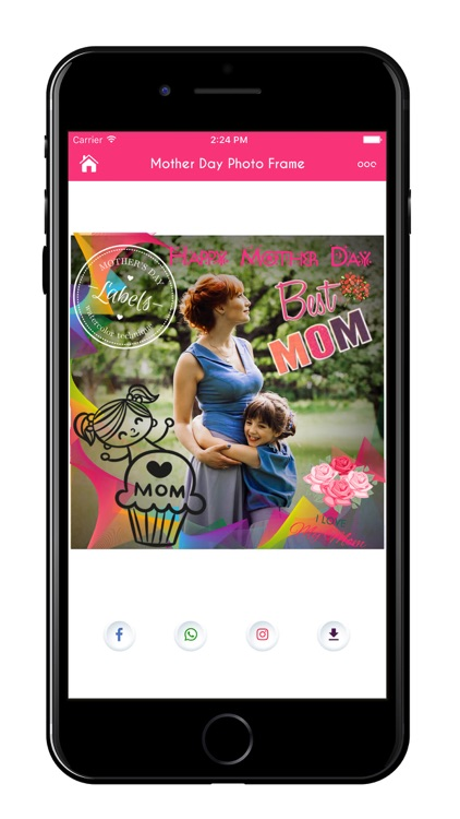 Mother's Day Greeting Cards & Frames screenshot-4