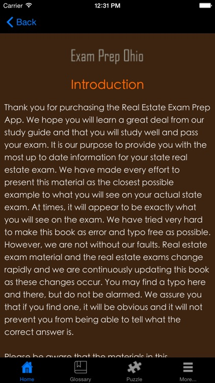 ExamPrepOH - Ohio Real Estate Agent Exam Prep. screenshot-3