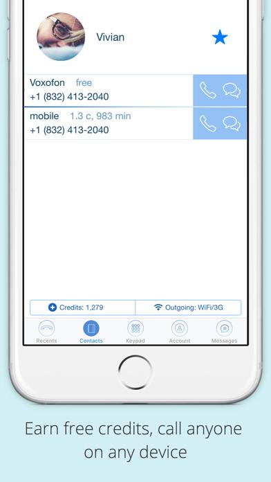 Voxofon International Calling by Voxofon LLC (iOS, United
