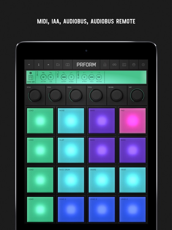 PRFORM – 9 Synths and 16 Pads screenshot-4