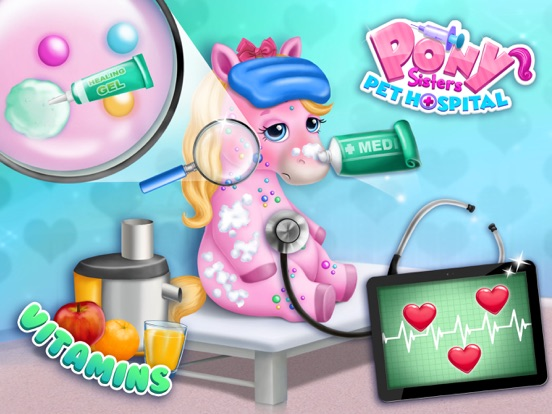 Pony Sisters Pet Hospital - Pink Horse Doctor screenshot 10