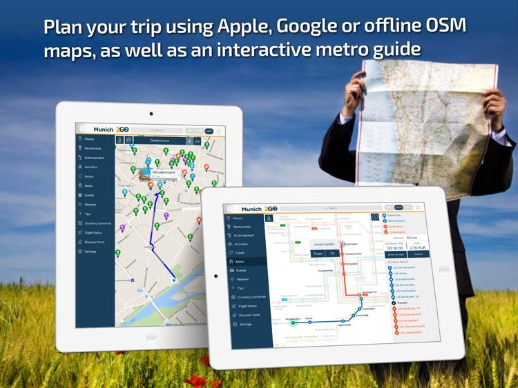 Munich Travel Guide & offline city map screenshot-3