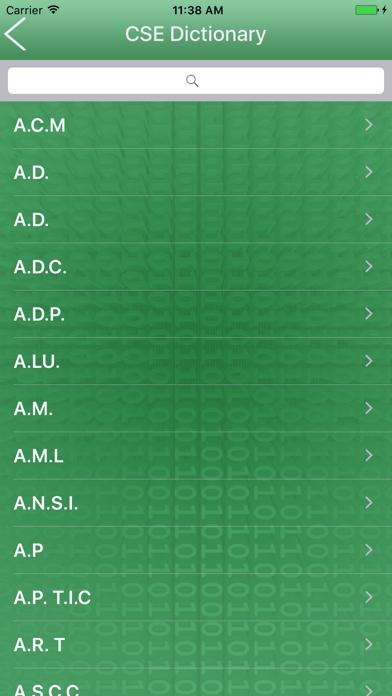 CSE Dictionary Offline screenshot three