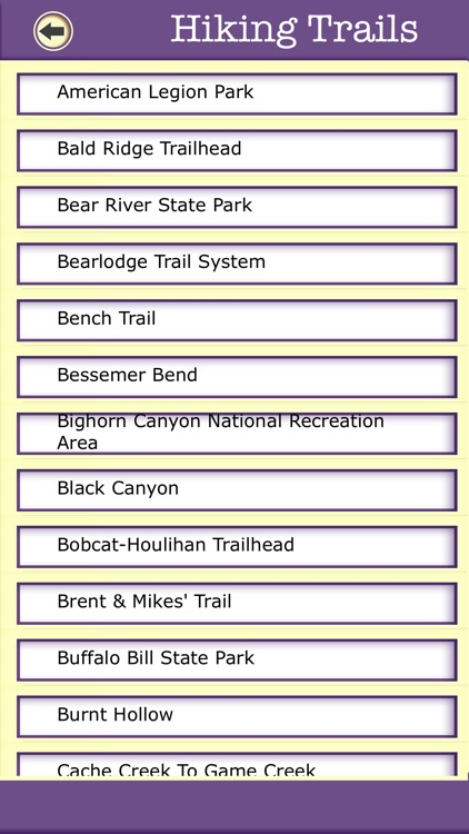 Wyoming Camping & Hiking Trails,State Parks screenshot-2