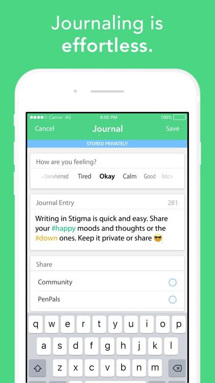 Stigma: Mood Tracker & Journal