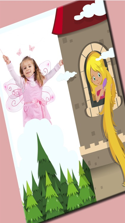 Fairy princess photo frames for kids – Editor screenshot-3