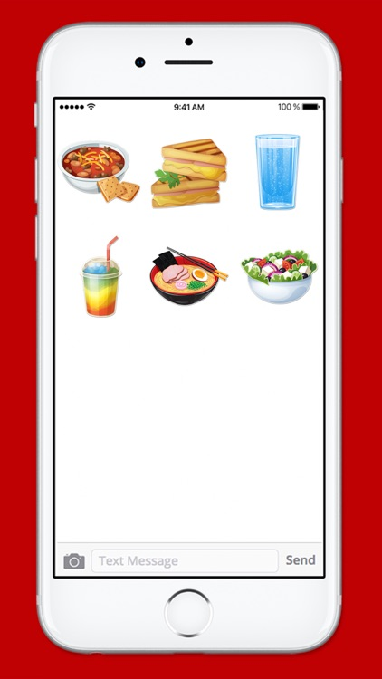 Lets Go To Lunch Food Sticker Pack screenshot-4
