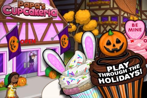 Papa's Cupcakeria To Go! screenshot 4