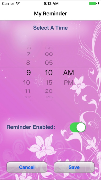 MyReminder - birth control pill tracker