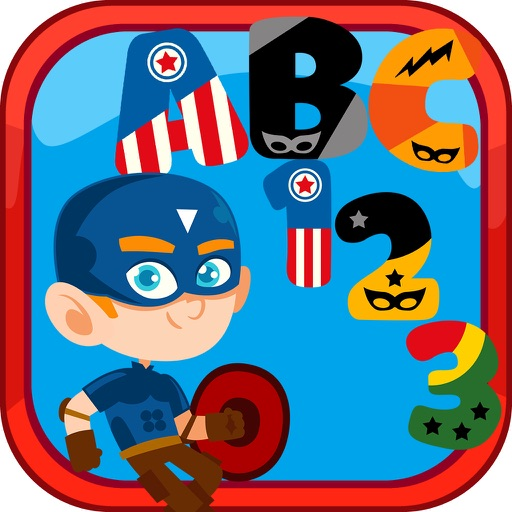 SuperHERO Alphabet application logo