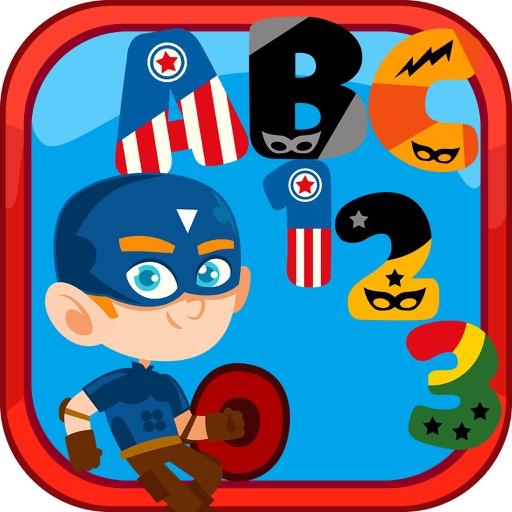 SuperHERO Alphabet app logo