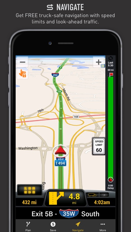My ONE20 - Truck Safe GPS, Planning & Savings screenshot-1