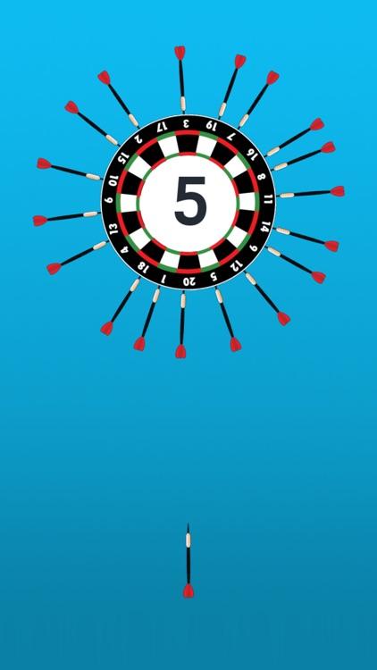 Twisty Dart - Hit The Circle Wheel Game