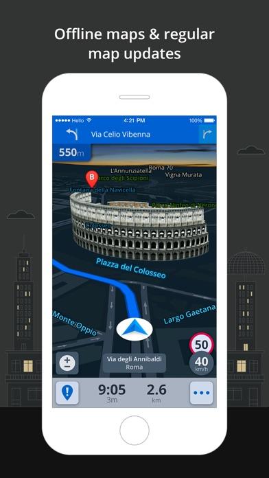 Screenshot #7 for Sygic North America: GPS Navigation, Offline Maps