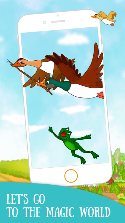 The Frog went travelling - fairy tale for children