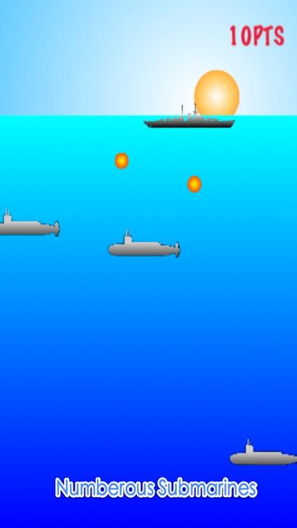 Battleships vs Submarines - Naval Battle