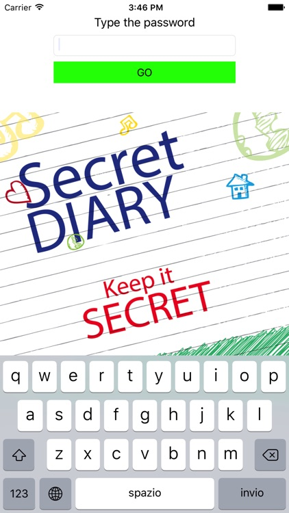 My Secret Diary - Keep it secret!