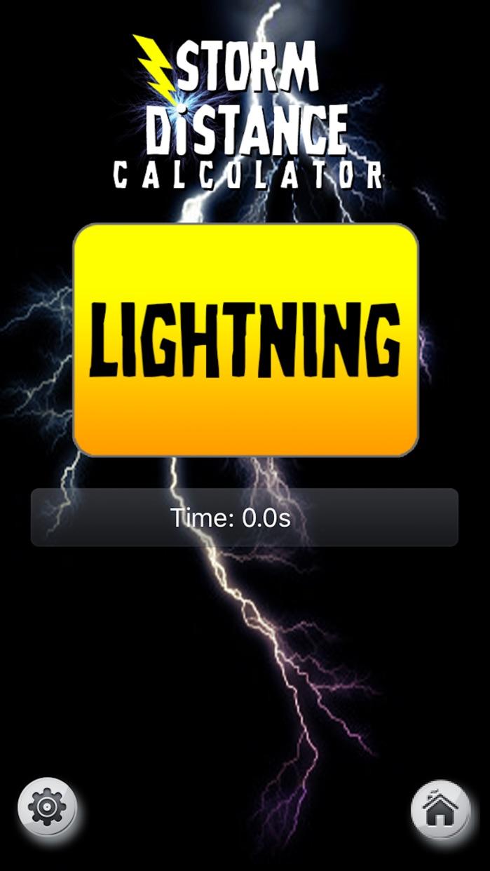 Storm Distance Tracker - Severe Weather Calculator Screenshot