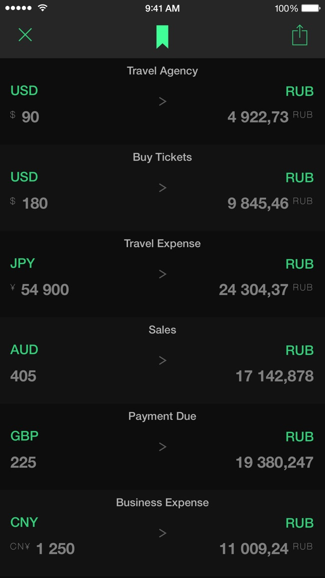 Stacks 2 - New Age Currency Converter Screenshot