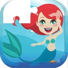 Game For Kids : Mermaid Princess Puzzle Jigsaw icon