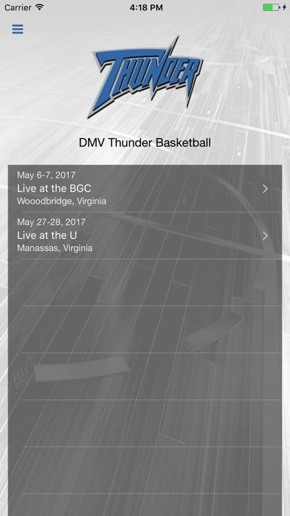 DMV Thunder Basketball
