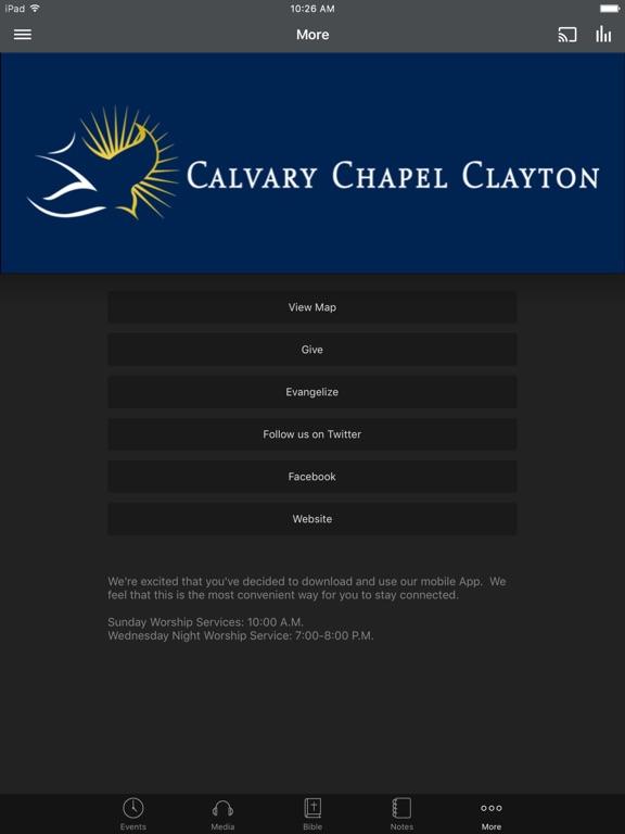 Calvary Chapel of Clayton - NC screenshot 6
