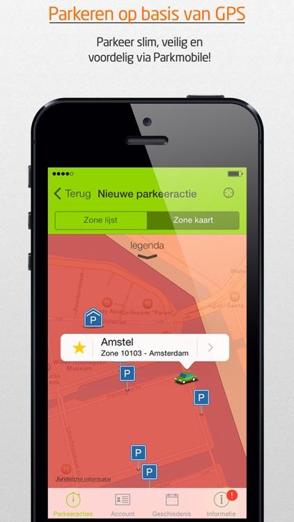 Parkmobile Parkeren screenshot-0
