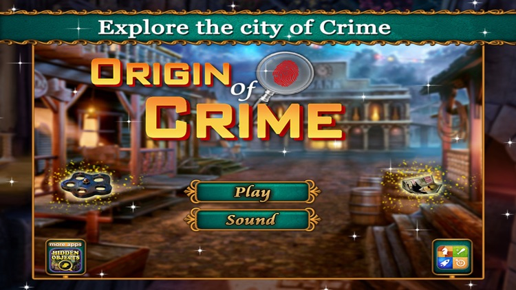 Origin of Crime - Find the hidden objects game