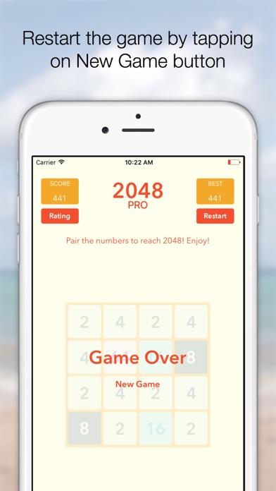 Screenshot #7 for 2048 Tile Pairing Challenge - Professional Version