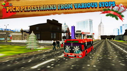 Offroad Hill Snow Bus Driver Parking Simulator 3D screenshot two