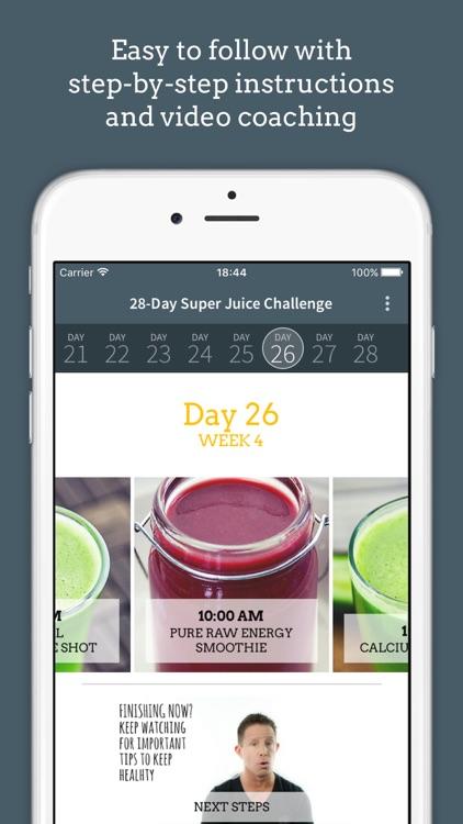 Jason Vale's Super Juice Me! Challenge app image