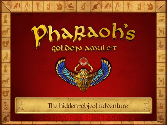 Hidden Objects: Pharaoh's Golden Amulet-ipad-0