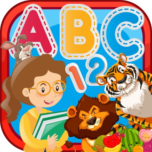 Toddler Games and ABC For 3 Year Educational app logo