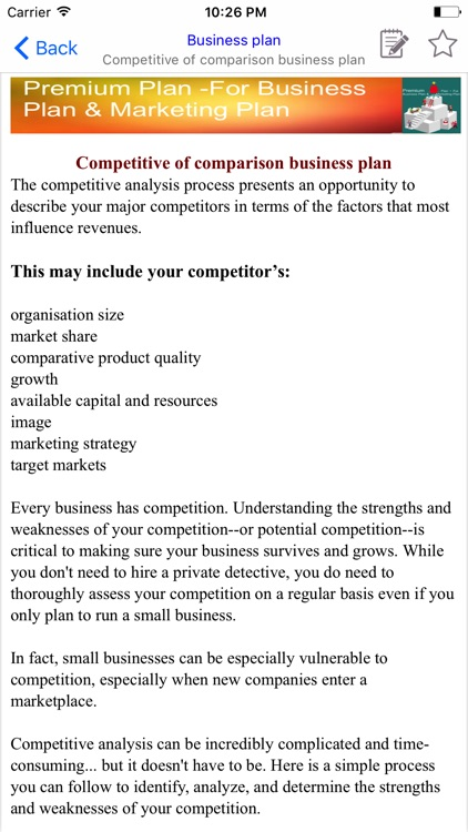 Premium Plan -For Business Plan & Marketing Plan screenshot-4