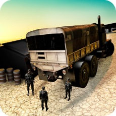 Activities of Heavy Off-road Army Truck Driver Parking Simulator