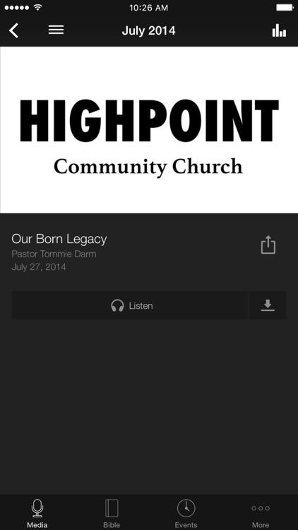 HighPoint Community Church screenshot-3