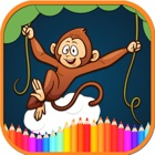 Forest Animal Coloring Book icon