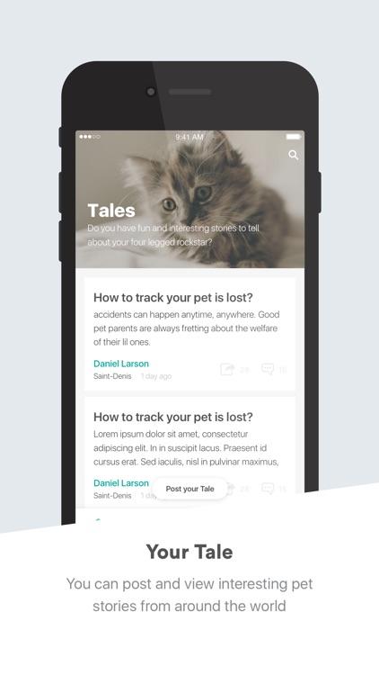 Tailslife - Pet care app