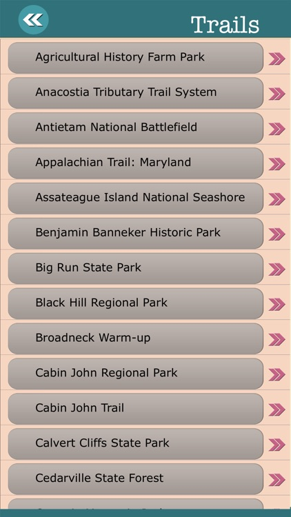 Maryland State Campgrounds & Hiking Trails screenshot-3