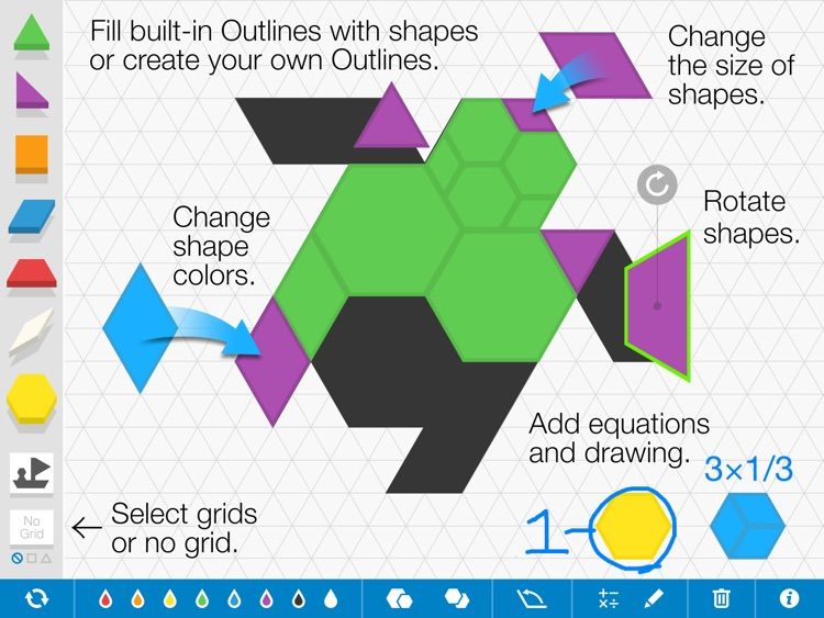 Pattern Shapes, by the Math Learning Center