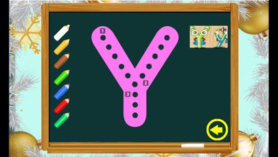 Funny Drawing Alphabet ABC Words For Baby screenshot four