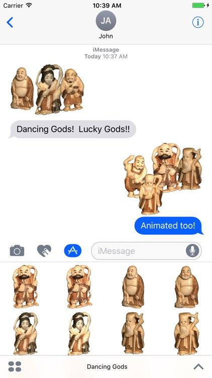 Dancing Lucky Gods
