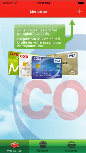 Carte Itunes Cora.Carte Cora Dans L App Store