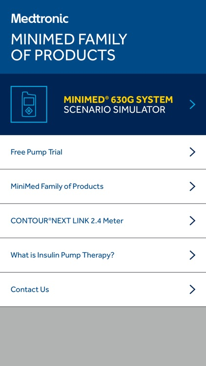MiniMed® 630G System Scenario Simulator screenshot-0