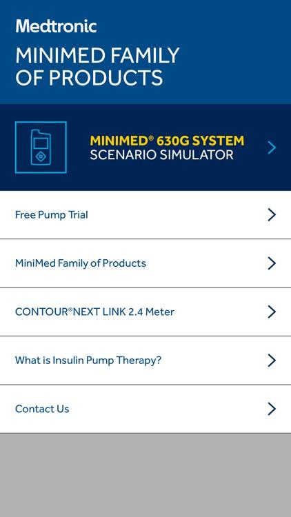 MiniMed® 630G System Scenario Simulator by Medtronic, Inc