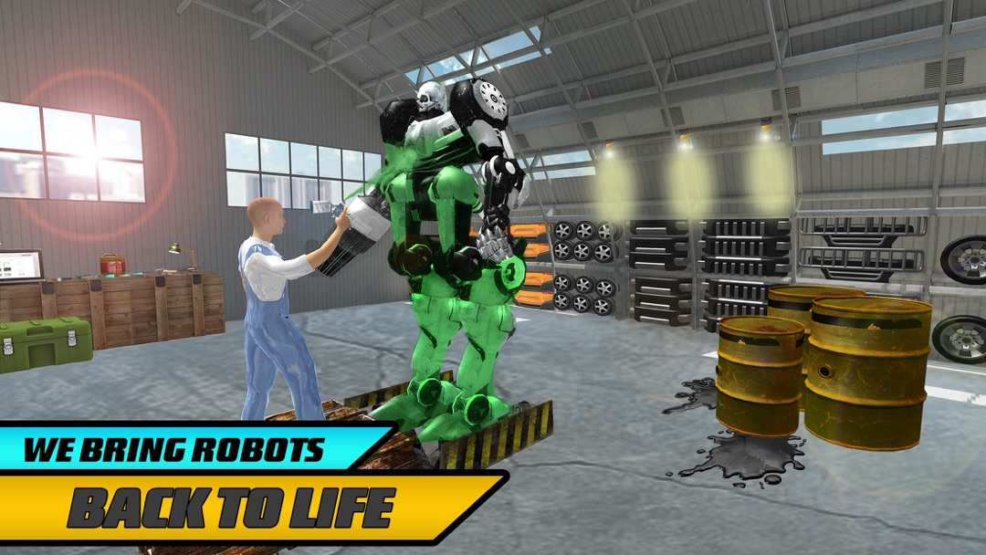 Real Robot Mechanic Simulator - Online Game Hack and Cheat
