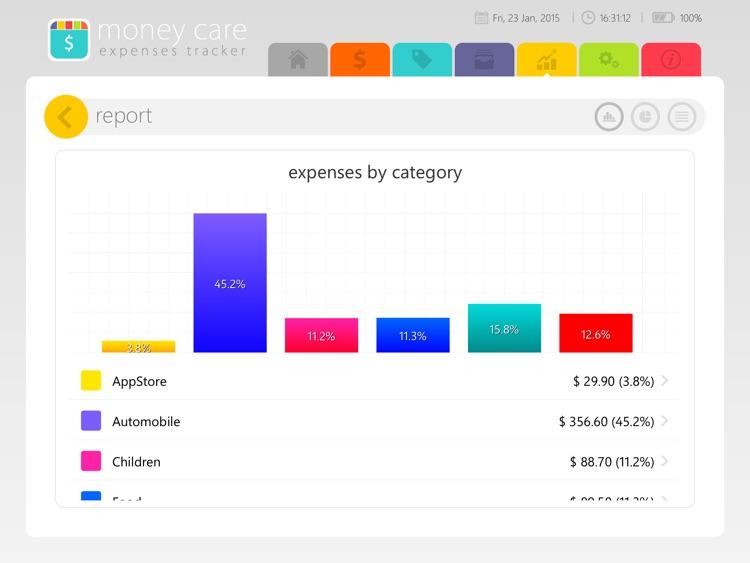 Money Care | Bills monitor screenshot-4