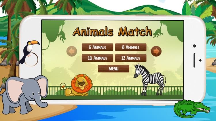 Kids Animals Matching Game screenshot-3