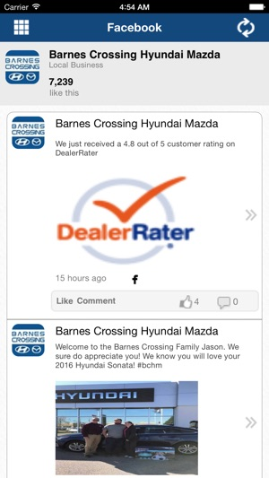 Barnes Crossing Hyundai Of Tupelo On The App Store