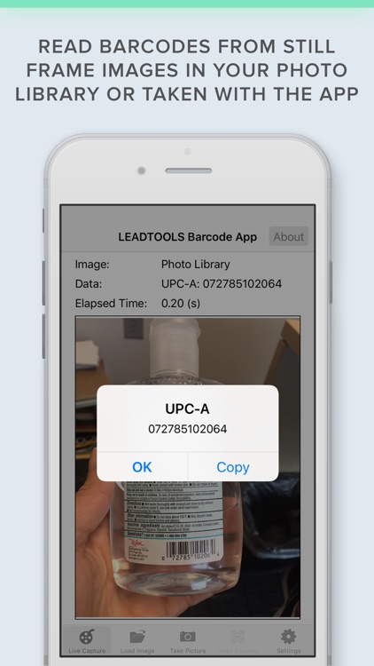 Barcode Scanner & QR Code Reader by LEADTOOLS SDK